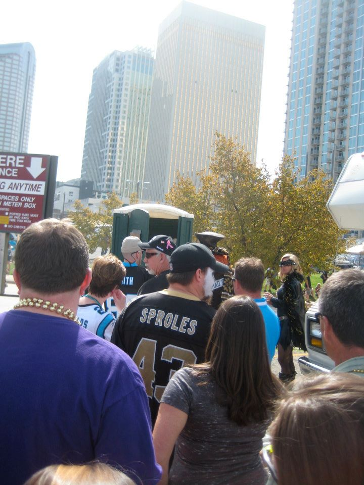 2011 Saints Tailgate - October 9th
