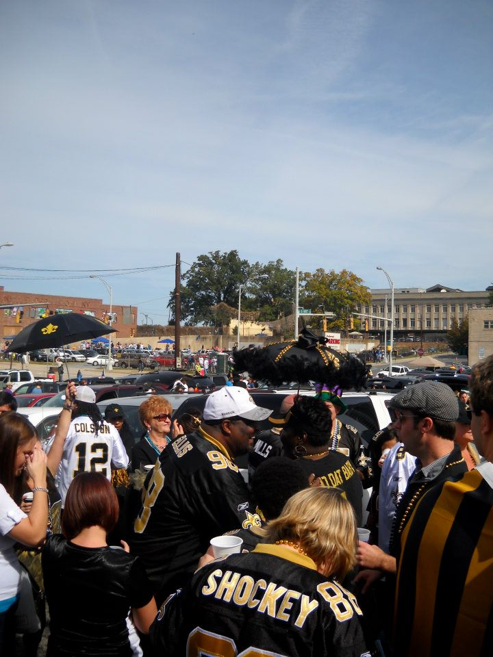 2012 Saints Tailgate - October 9th